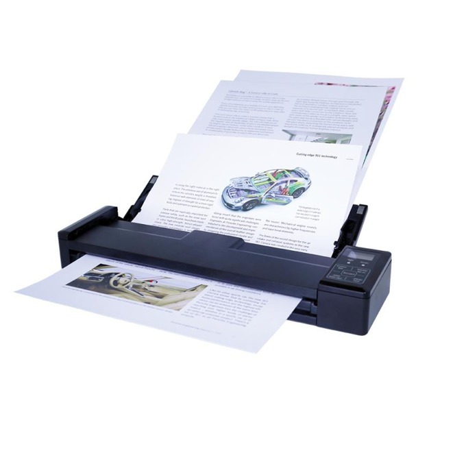 Преносим скенер IRIScan Pro 3 WiFi, 600 dpi, А4, ADF, Wi-Fi, USB image