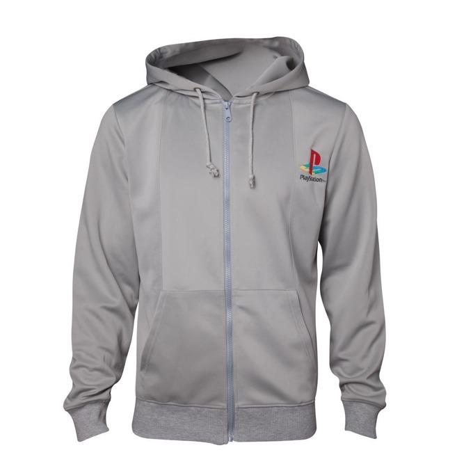 Суитшърт Playstation 1 hoodie, размер L, сив image