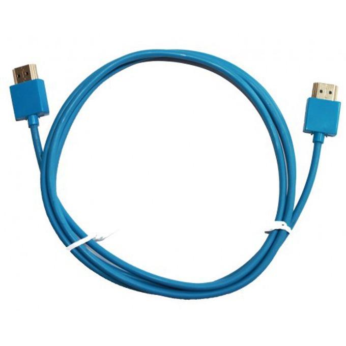 Кабел DeTech, от HDMI(м) към HDMI(м), 1.5m, син image