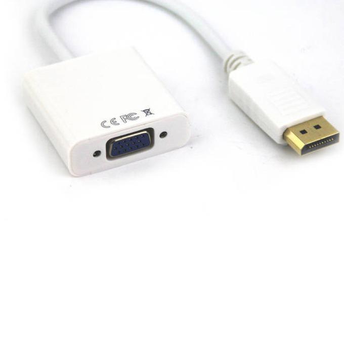 Преходник VCom, от DisplayPort(м) към VGA(ж), бял image