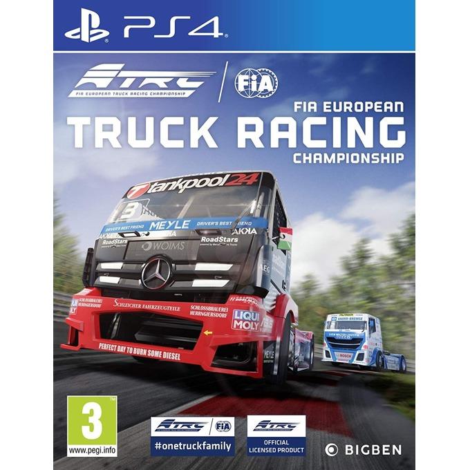 Игра за конзола FIA European Truck Racing Championship, за PS4 image