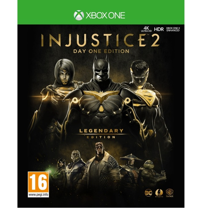 Игра за конзола Injustice 2 Legendary Steelbook Edition, за Xbox One image