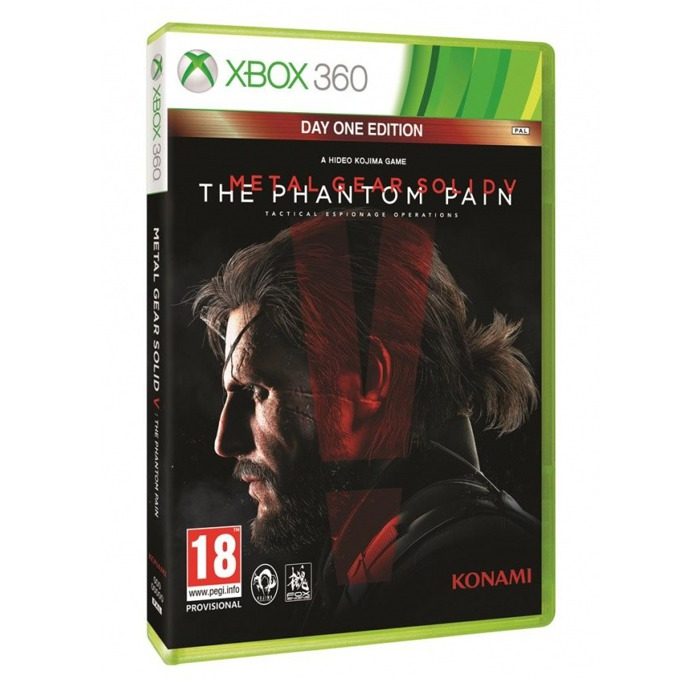 Игра за конзола Metal Gear Solid V: The Phantom Pain - Day 1 Edition, за Xbox 360 image