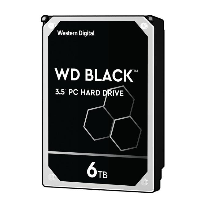 "6TB Western Digital Black WD6003FZBX, SATA 6 Gb/s, 7200 rpm, 3.5"" (8.89 cm) image"