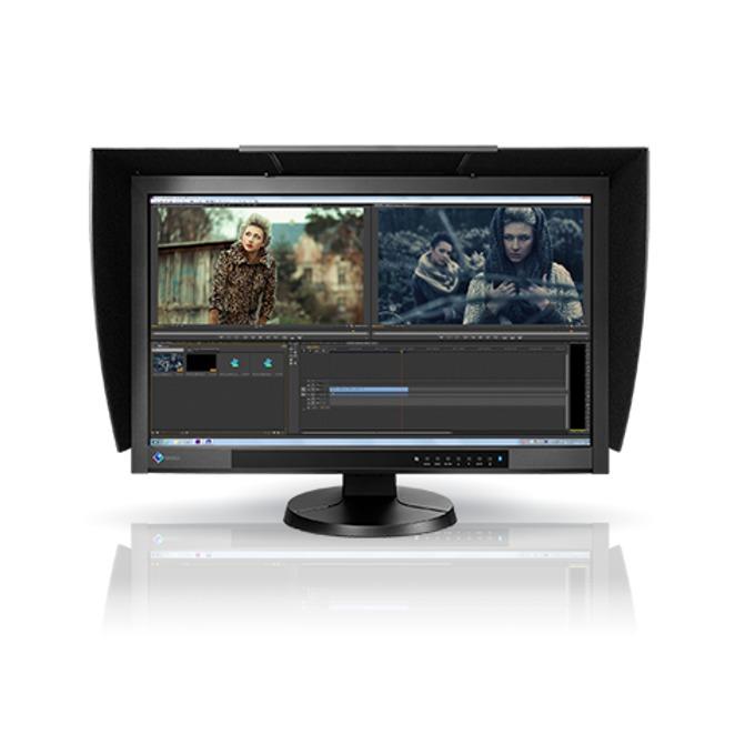 """Монитор EIZO ColorEdge CG277, 27"""" (68.58 cm), IPS панел, WQHD, 6 ms, 300 cd/m2, Display Port, HDMI, DVI image"""