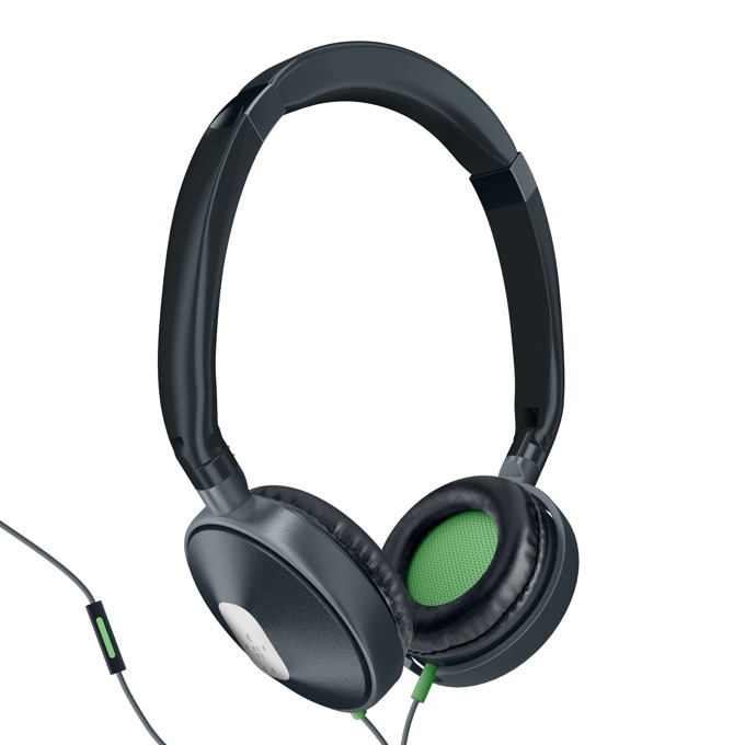Слушалки Belkin PureAV 005, микрофон, 40мм говорители, черен image