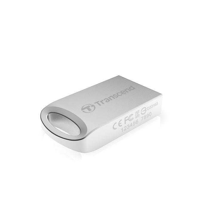 32GB USB Flash Drive, Transcend JetFlash 510, USB 2.0, сребриста image