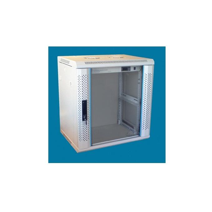 "Комуникационен шкаф Toten WM.6609, 19"", 9U, 600x600 мм, до 60кг товароносимост, сваляеми страни image"