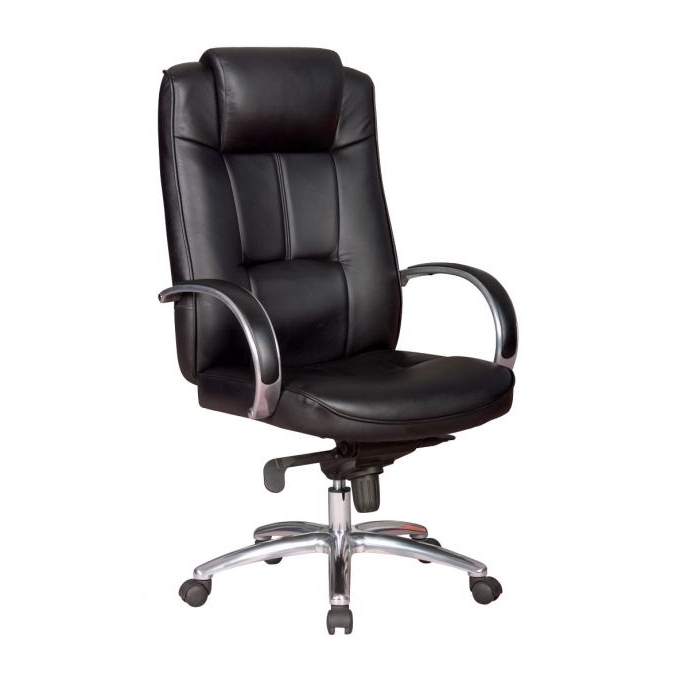 Директорски стол GM 162, луксозен, изкуствена кожа, черен image