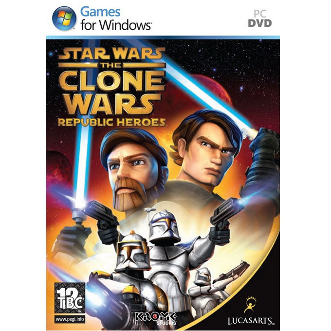 Игра Star Wars The Clone Wars: Republic Heroes, за PC image