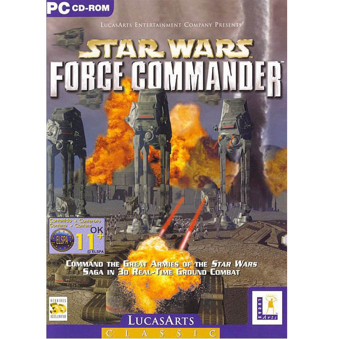 Star Wars: Force Commander, за PC image