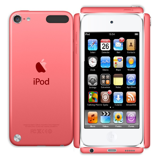 "Apple iPod touch, 4.0"" display, 64Gb, розов image"