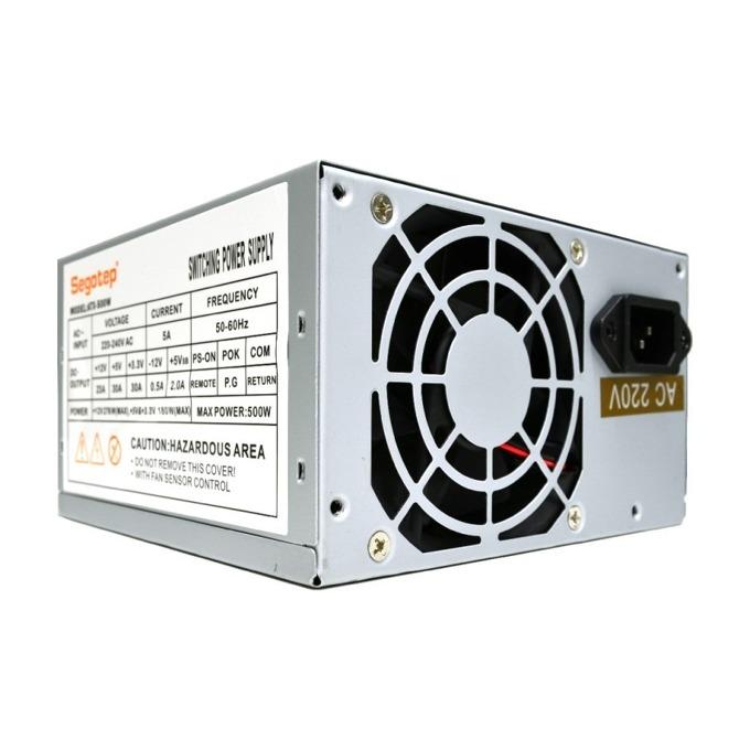 Захранващ Segotep ATX-500W, 500W, Passive, 80mm вентилатор  image