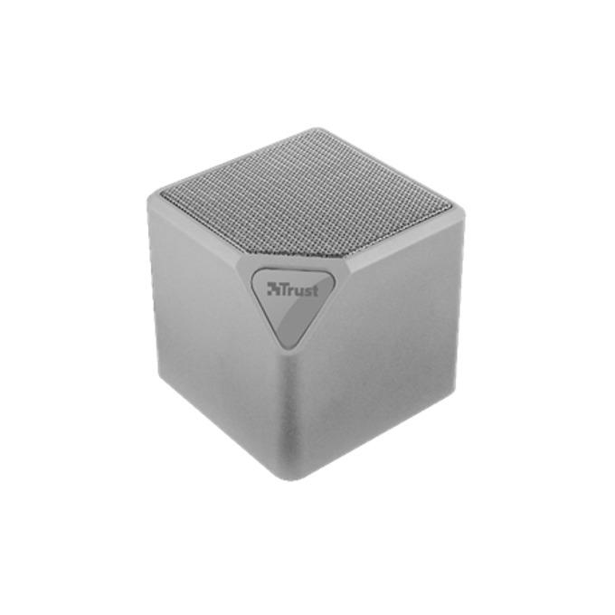 Тонколона Trust Ziva UR wireless speaker, 1.0, 3W, SD card slot, micro USB, сива image