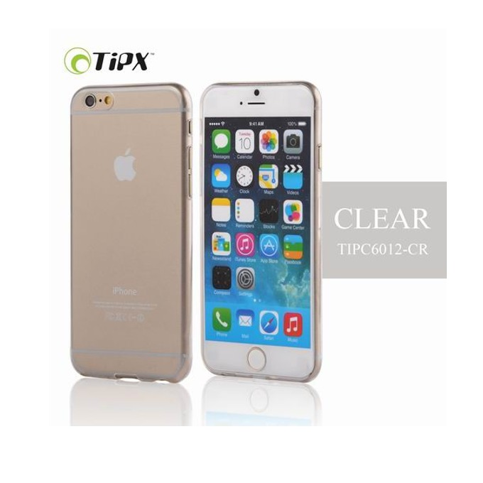 Силиконов протектор Tipx Ticon Case за Apple iPhone 6 Plus, 0.4 mm, прозрачен image