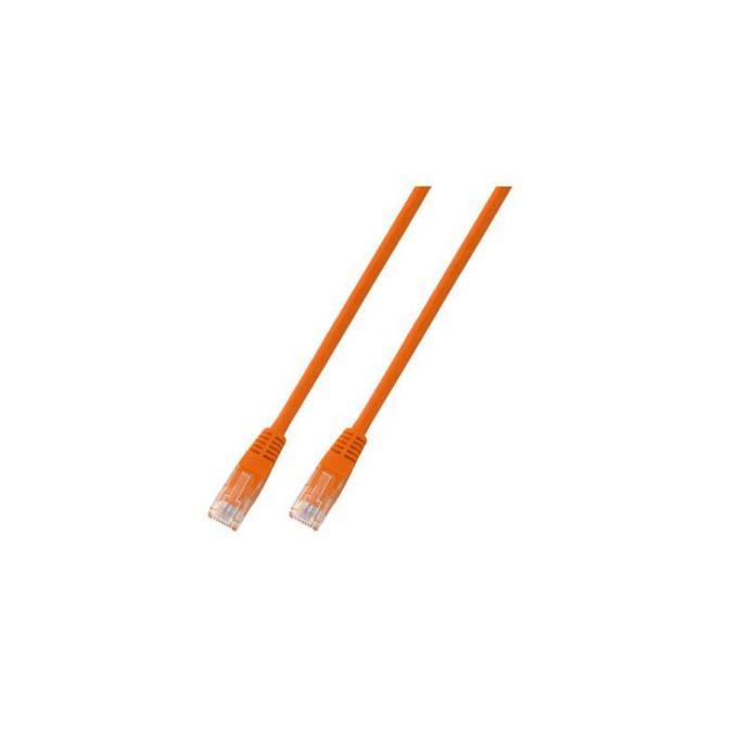 Пач кабел UTP EFB Elektronik, 0.5m, Cat 5E, оранжев image