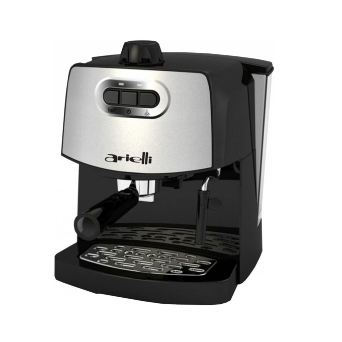 Ръчна еспресо кафемашина Arielli KM-190BS, 15 bar, 1.8 литра подвижен резервоар, крема диск, черна image