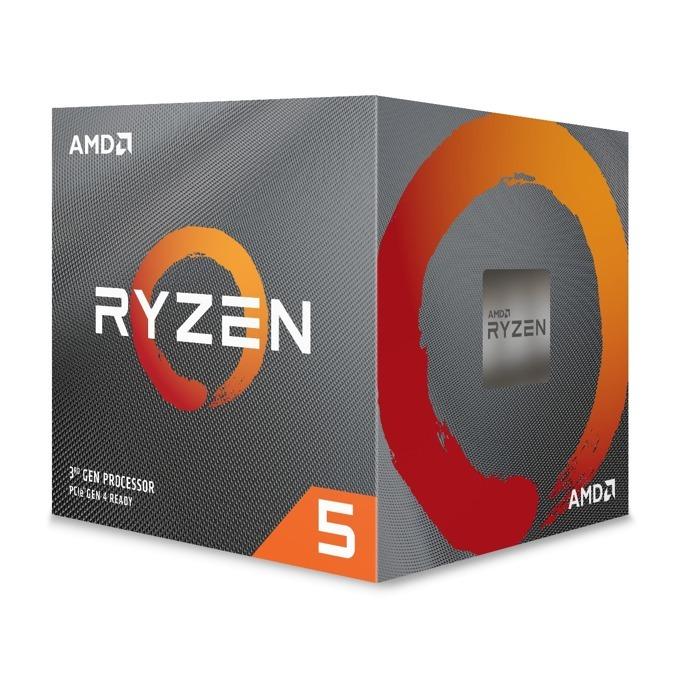 Процесор AMD Ryzen 5 3600X, шестядрен (3.8/4.4GHz, 32MB L3 Cache, AM4) BOX, с Wraith Spire охлаждане image
