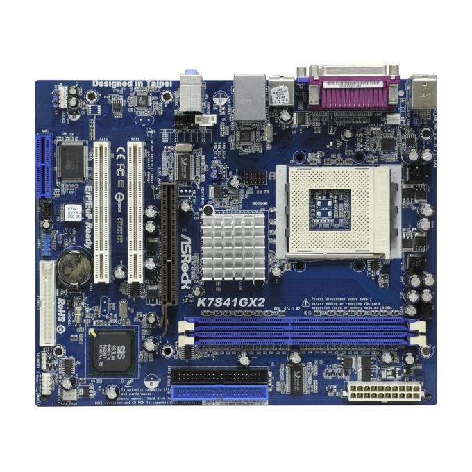 ASRock K7S41GX2 SiS741GX SocketA s462 DDR400 mATX