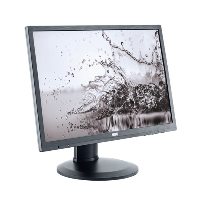 """Монитор AOC E2260PQ/BK, 22"""" (55.58 cm), TN панел, 2ms, WSXGA+, 1000:1, 250cd/m2, DVI, DisplayPort image"""