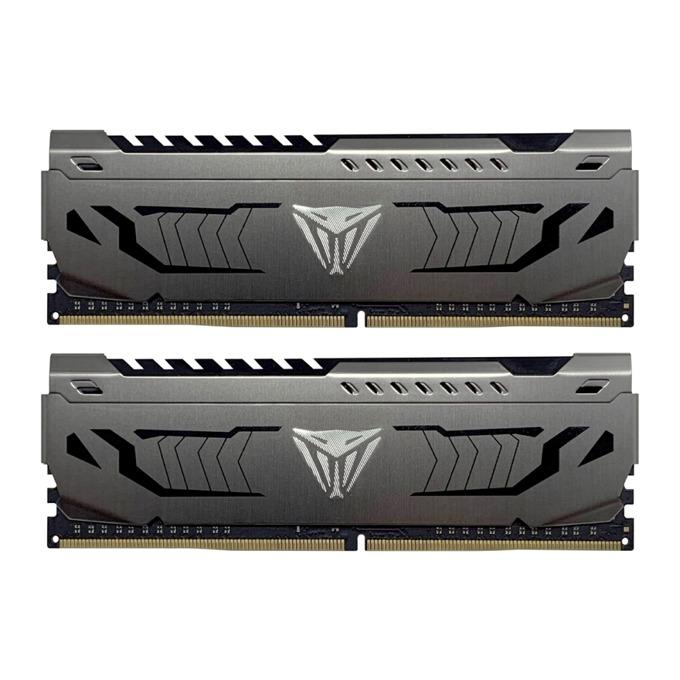 Памет 32GB(2x16GB) DDR4, 3200MHz, Patriot Viper Steel PVS432G320C6K, 1.35V image