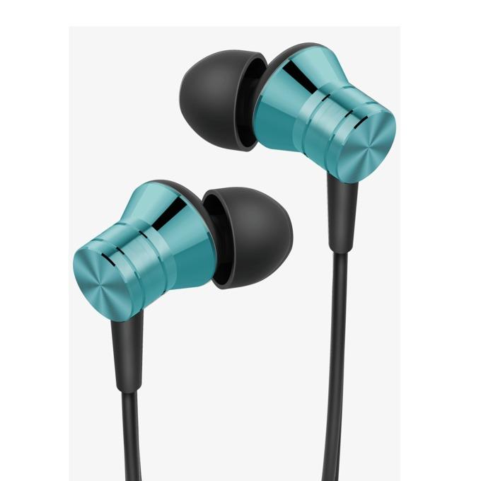Слушалки 1MORE Piston Fit, микрофон, бутон за разговори, дълбок бас, 3.5mm жак, сини image