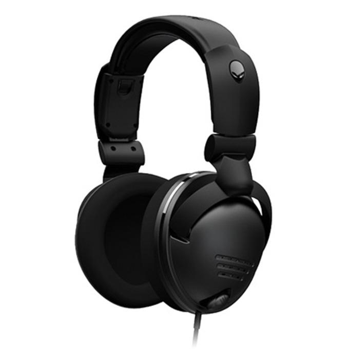 Слушалки Dell Alienware TactX Surround Sound с микрофон, черни image