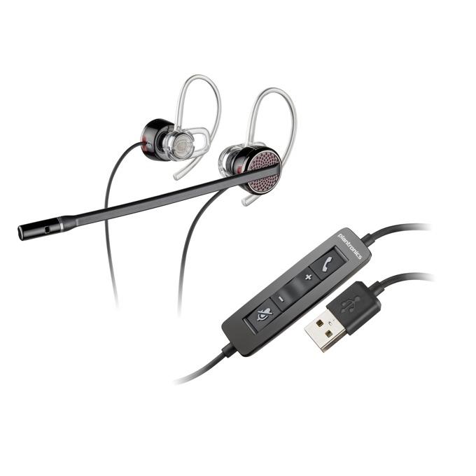 Слушалки Plantronics Blackwire C435, шумоизолиращ микрофон, USB image