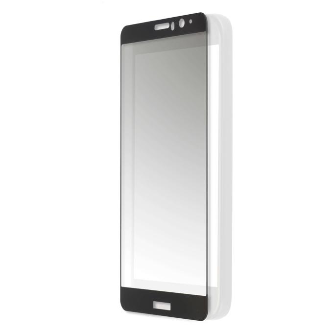 Протектор от закалено стъкло /Tempered Glass/, Eiger, за LG K10 (2017) (прозрачен-черен) (смартфон) image