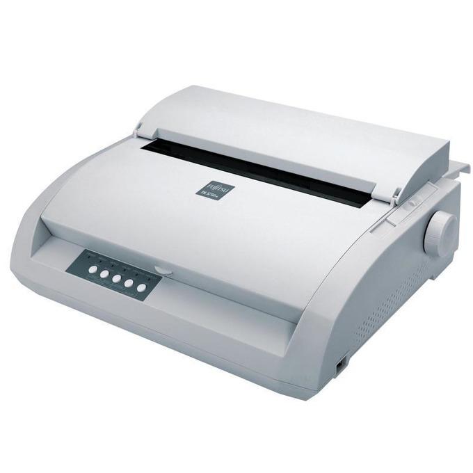 Матричен принтер, Fujitsu DL 3750+, 360x360 dpi, 24 pin, 80 column, 480cps, USB + parallel image