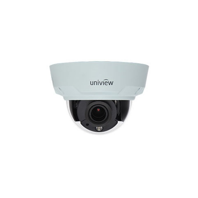 IP камера UniView IPC341E-VIR-Z-IN, куполна, 1.3 Mpix(1280×960@30FPS), 2.8 ~12 mm обектив, H.264, MJPEG, IR осветеност (до 30м), външна вандалоустойчива IK10 и IP66 защита, PoE, RJ-45 (10/100Base-T) image