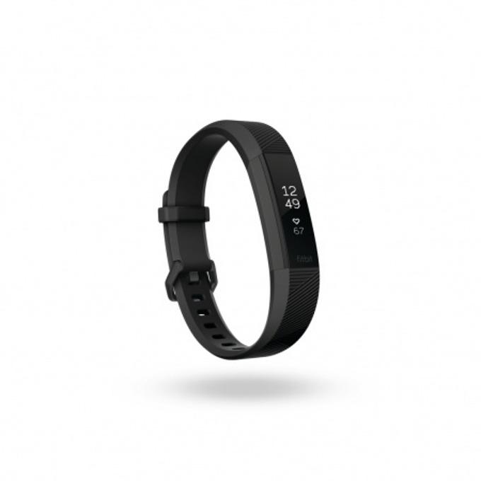 Смарт гривна Fitbit Alta HR Large Size, Bluetooth, до 7 дни издръжливост на батерията, Mac OS X 10.6 (или по-нова), iPhone 4S (или по-нова), iPad 3 gen. (или по-нова), Android and Windows 10 devices, черна(Gunmetal) image