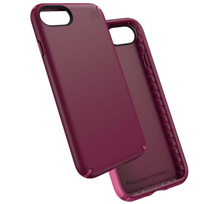 Страничен протектор с гръб Speck за iPhone 7, лилав image