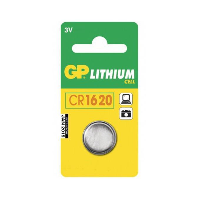 Батерия литиева GP CR1620, 3V, 1 бр. image
