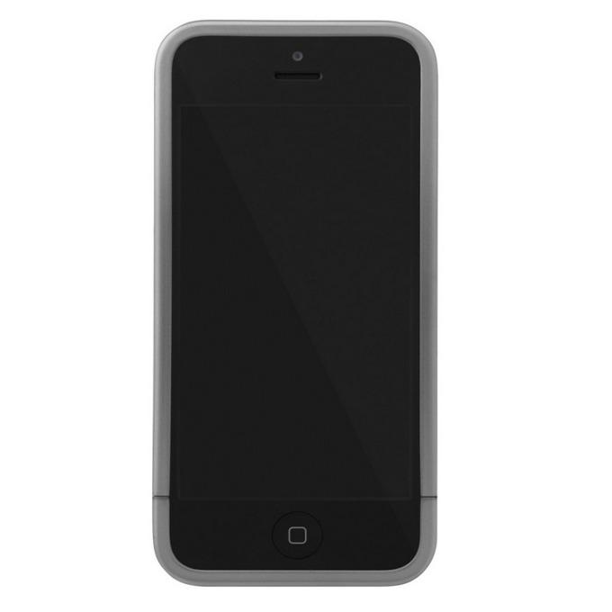 Поликарбонатов протектор InCase Slider Case за iPhone 5, iPhone 5S, сребрист image