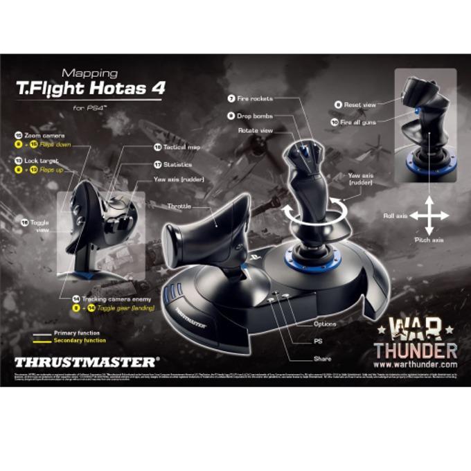 Thrustmaster Joystick T-Flight Hotas 4 4160656 product