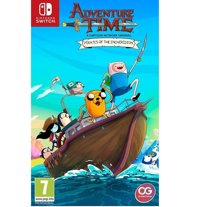 Игра за конзола Adventure Time: Pirates of the Enchiridion, за Switch image