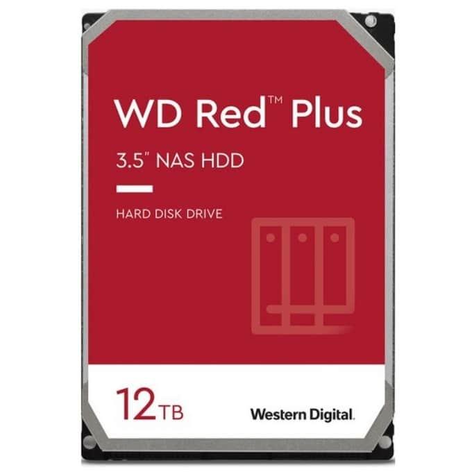 Western Digital Red Plus NAS WD120EFBX product