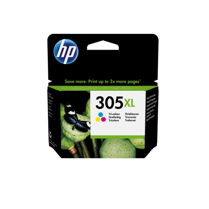 HP 305XL High Yield Tri-color Original Ink Cartrid