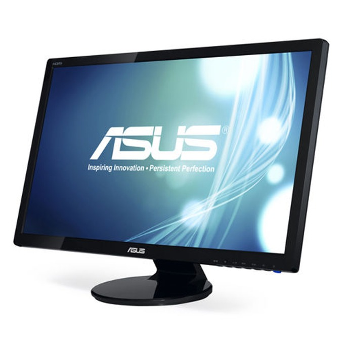 "Монитор 27"" (68.58 cm) ASUS VE278H, FULL HD LED, 2ms, 50 000 000:1, 300cd/m2, 2x HDMI, колонки, 3г. image"