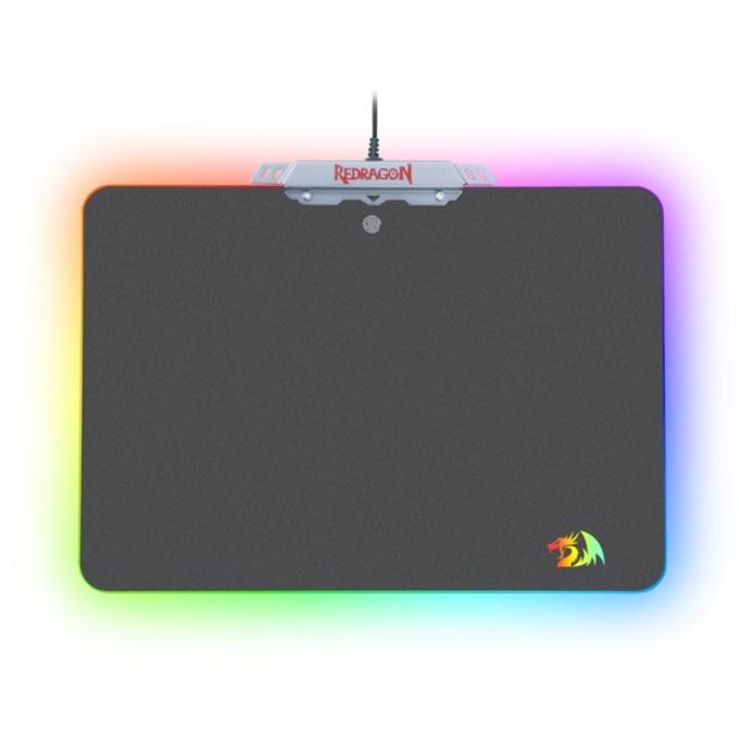 Подложка за мишка Redragon Kylin RGB, гейминг, подсветка, USB, черна, 350 x 250 x 3.6 мм image