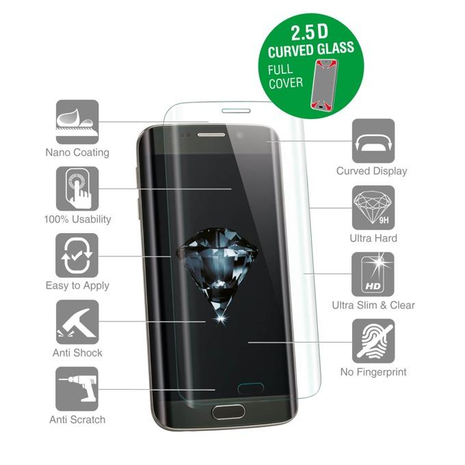 Протектор от закалено стъкло /Tempered Glass/ 4Smarts за Apple iPhone 7, прозрачен-бял image