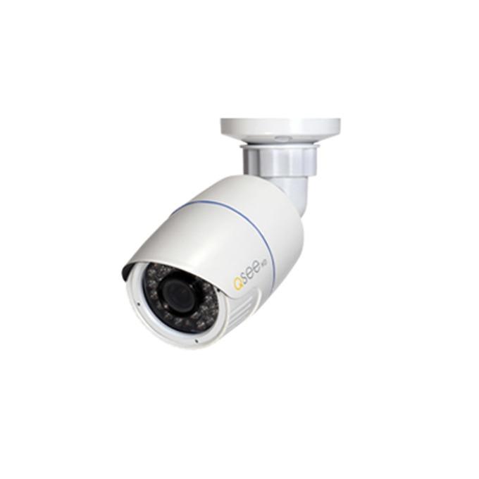 """IP камера Q-See QTN8041B, насочена """"булет"""", 4 Mpix(2688×1520@30FPS), 3.6 mm обектив, H.265 / H.264 / MJPEG, IR осветеност (до 20м), външна IP66 защита, PoE, RJ-45 (10/100Base-T) image"""
