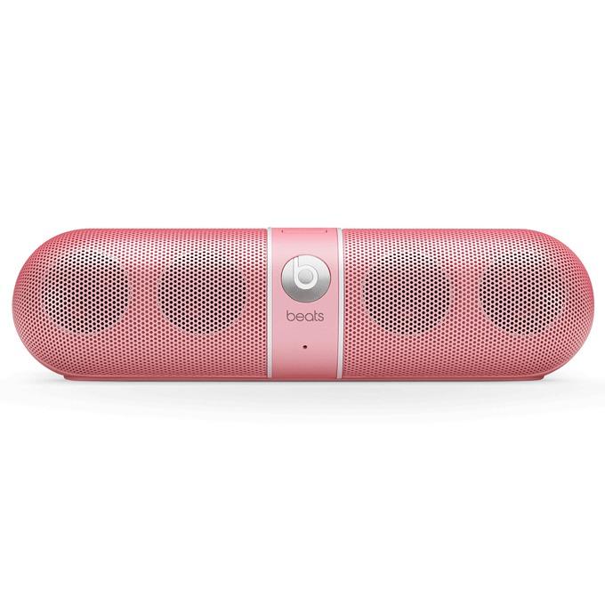 Тонколона Beats by Dre Pill 2.0 Wireless Speaker, 2.0, RMS 12W (6W + 6W), Bluetooth, розова, безжична аудио система, микрофон, оптимизирани за iPhone/iPad/iPod image