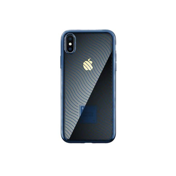 Калъф за Apple iPhone XR, термополиуретанов, Remax Proda Mouss, син image