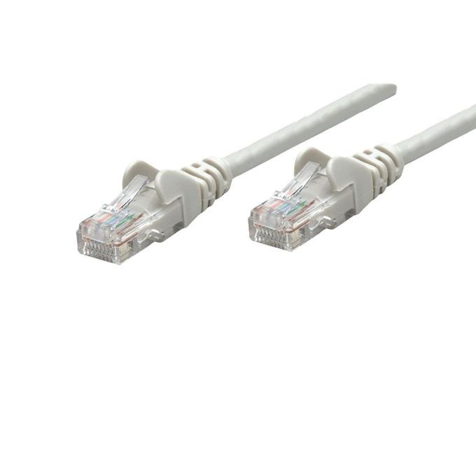 Пач кабел Intellinet, UTP, Cat.5e, 1m, сив image