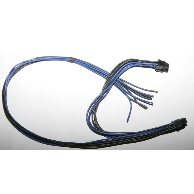 """Захранващ кабел """"Jarcomputers"""" BTC 90cm. от 18AWG към 2x 8pin PIC-E, 90cm (60+30cm)  image"""
