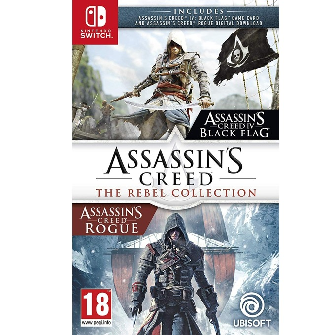 Assassins Creed Assassins Creed: Rebel Switch product