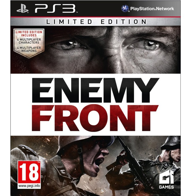 Игра за конзола Enemy Front: Limited Edition, за PS3 image