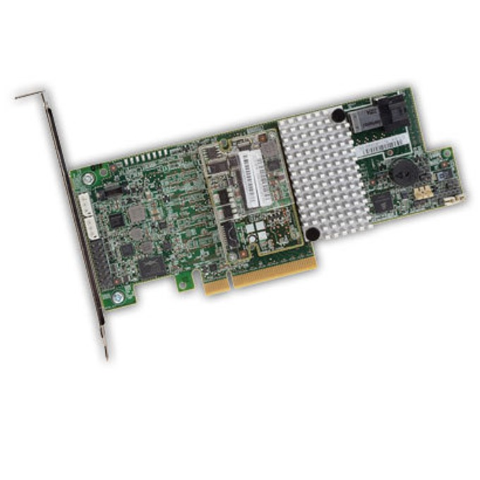 RAID Контролер LSI MegaRAID SAS 9361-4i, PCI-E 3.0 към mini-SAS (SFF8643), SATA/SAS 12Gb/s, 2 портов, 1GB RAM, поддържа RAID 0, 1, 5, 6, 10, 50, and 60 image